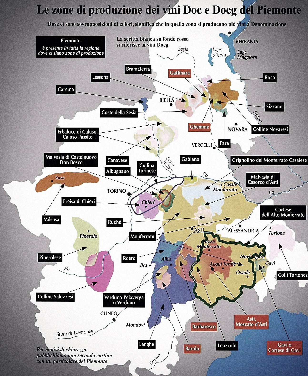 Barolo Wine Region Italy Map.Wines Of Piedmont Selden Standard Detroit Michigan