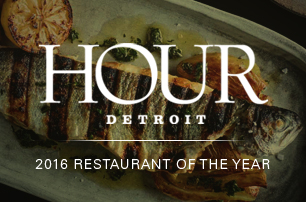 Hour Detroit - Restaurant of the Year